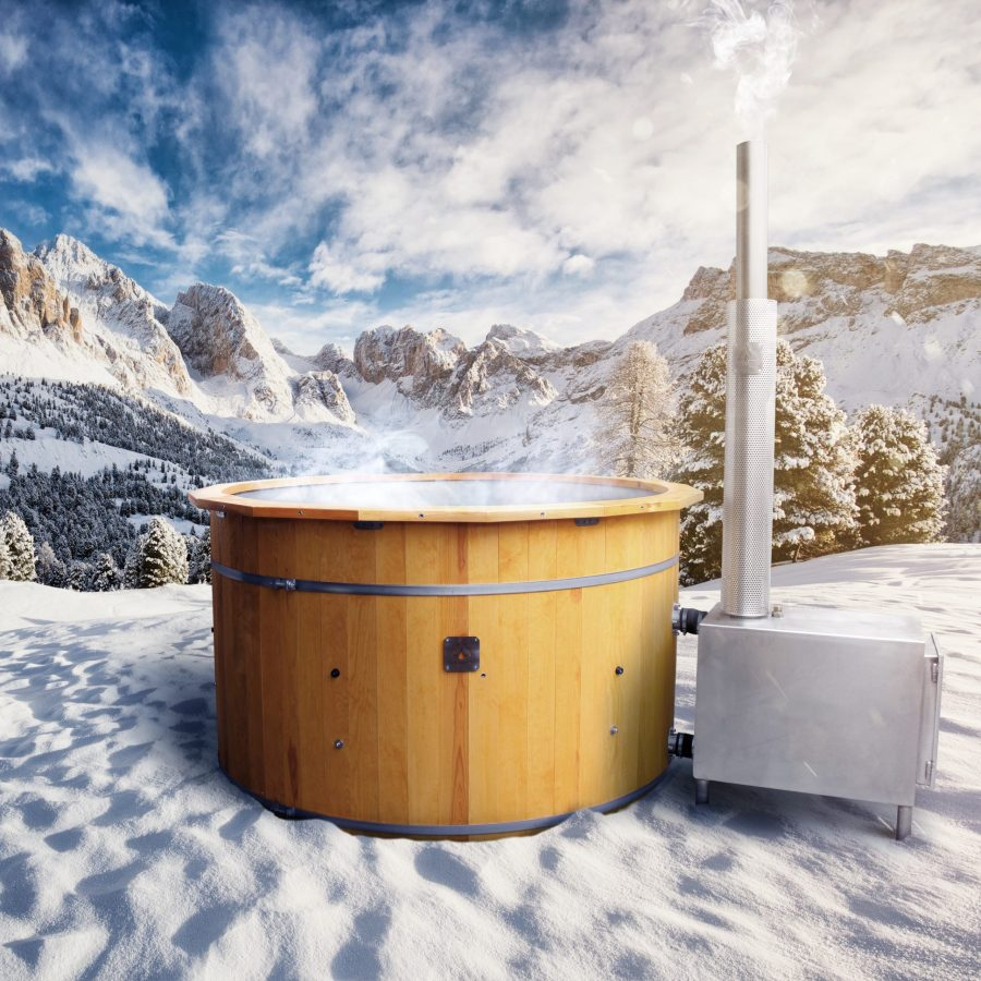 dolomiti beautiful winter landscape ski